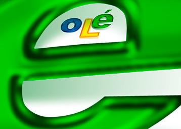 Olé Web Comunicação Retina Logo